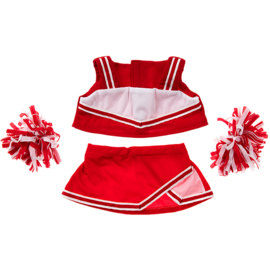 RED CHEERLEADER OUTFIT