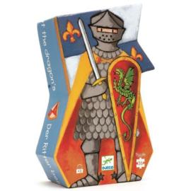 Djeco - Puzzel De ridder en de draak