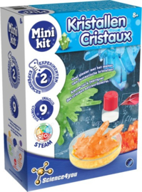 SCIENCE 4 YOU - Mini kit Kristallen