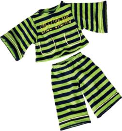 Living Puppets gestreepte pyjama