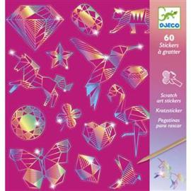 Djeco - Kraskaarten - Diamond