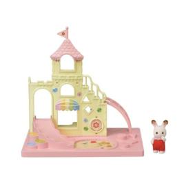 Sylvanian families - Het kasteel met chocoladekonijn baby