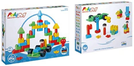 Poly M - Creative City Kit - Bouwblokken  50-delig