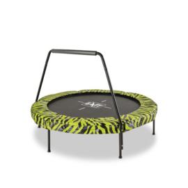 EXIT - Tiggy junior trampoline met beugel ø140cm - zwart/groen