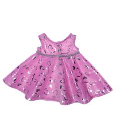 PINK & SILVER DRESS
