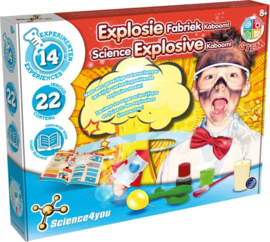 SCIENCE 4 YOU - Explosie Fabriek Kaboom