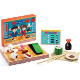Djeco -  Houten Sushi set Aki en Maik