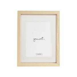 Fotolijst  Geniet/Thuis - 16,6x21,7cm