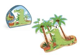 Scratch - Puzzel - Krokodil