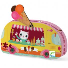 Djeco - Puzzel - De ijskar