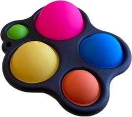 Fidget toy - Simpl Dimpl XL - Zwart