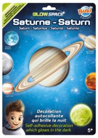 Buki - 3D Glow  Sticker Saturnus