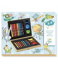 Djeco - Kleurdoos voor kleintjes