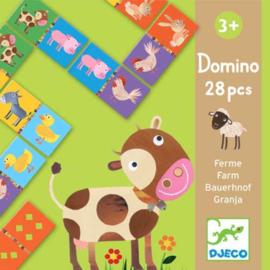 Djeco - Domino boerderij