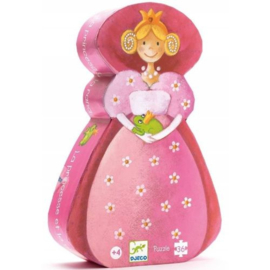Djeco -  Puzzel De prinses en de kikker