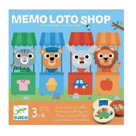 Djeco - Memo Loto Shop
