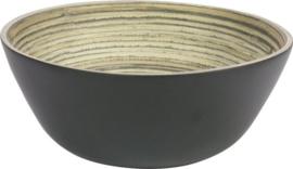 Slakom bamboe - Zwart - 30,5cm