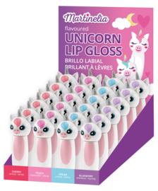 unicorn lip gloss per stuk