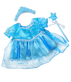 BLUE SNOWPRINCESS GOWN