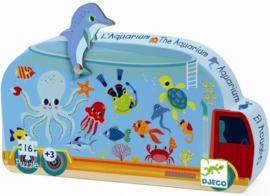 Djeco  - Puzzel Aquarium