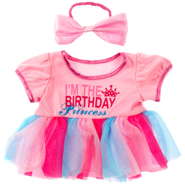 BIRTHDAY PRINCESS & BOW OUTFIT