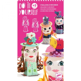 Djeco - Do it yourself - Ballon figuren - Dames