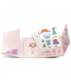 Djeco - Miss Lilypink - Stickers removable
