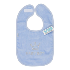 Slabbetje VIB - Baby Boy- Blauw