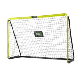 EXIT - Tempo stalen voetbaldoel 240x160cm - groen/zwart