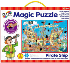 GALT - Puzzel - Piratenschip