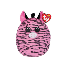 Fidget toy - Squishmallow -  Ty Squish a Boo - Zoey The Zebra  - 20 cm
