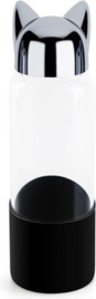 Balvi - Kat waterfles - Zwart