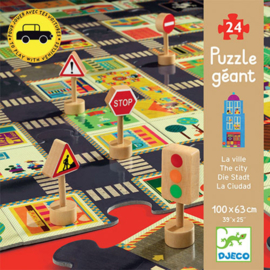 Djeco - Puzzel - De grote stad