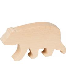 Nature Zoom - Snijset houten dieren