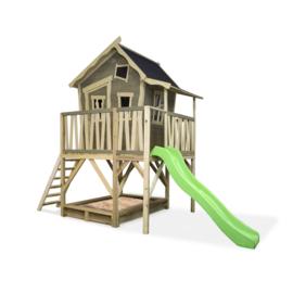 EXIT - Crooky 550 houten speelhuis - grijsbeige