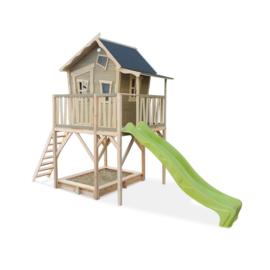EXIT - Crooky 750 houten speelhuis - grijsbeige