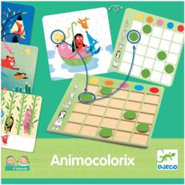 Djeco - Eduludo spel animocolorix