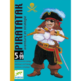 Djeco  - Kaartspel - Piratatak