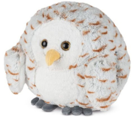 Cozy Noxxiez Handwarmer/knuffel - Sneeuwuil