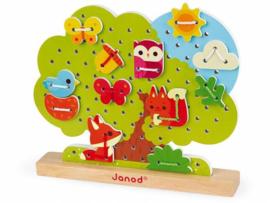 Janod - Te rijgen boomspel