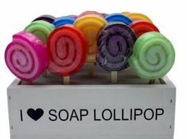 Zeepjes - Lollipop (Per stuk)