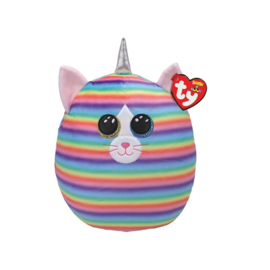 Fidget toy - Squishmallow -  Ty Squish a Boo - Heather The Cat - 20 cm