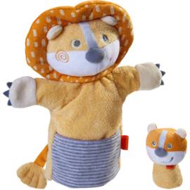 Haba - Poppenkastpop Leeuw met baby