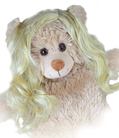 "LONG ""CURLY"" BLONDE WIG"