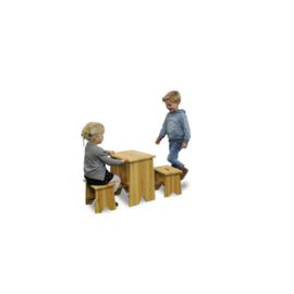 EXIT - picknickset met twee kinderkrukjes