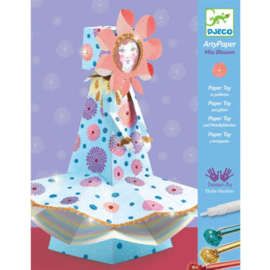 Djeco - 3D - Arty paper - Miss blossom