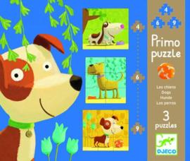 Djeco -  Puzzels honden