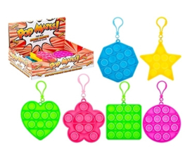 Fidget toy - Pop Mates (Pop It) Clip On - Shapes