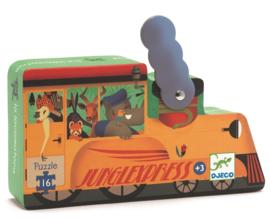 Djeco - Puzzel locomotief