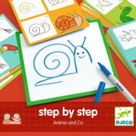 Djeco - Eduludo step by step dieren